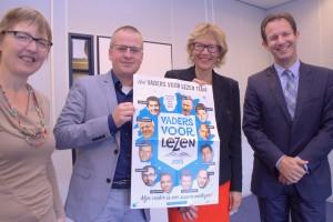V.l.n.r. Ilse van Donkelaar, Robert Kreukniet, Jolanda de Witte, Boud van Beurden