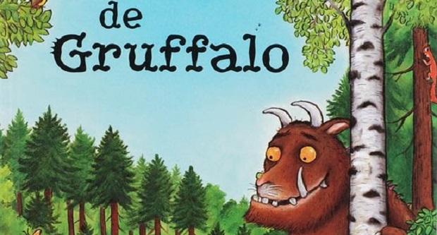 Gruffalo actie bij de Giraf