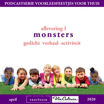 Nieuw: Podcastserie Voorleesfeestjes